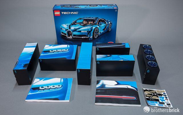 Lego Technic 42083 Bugatti Chiron The Worlds Most Luxurious