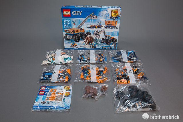 With Arrive Mammoths Lego Mobile City 60195 Arctic Exploration SVUzMp