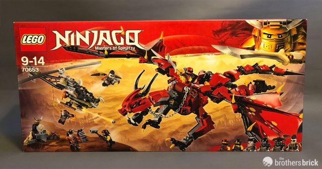 Lego Dragons Fire 20 pieces NEW!!!