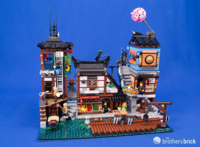 Lego Bouwspellen 3553 Piece The Lego Ninjago Movie Ninjago City