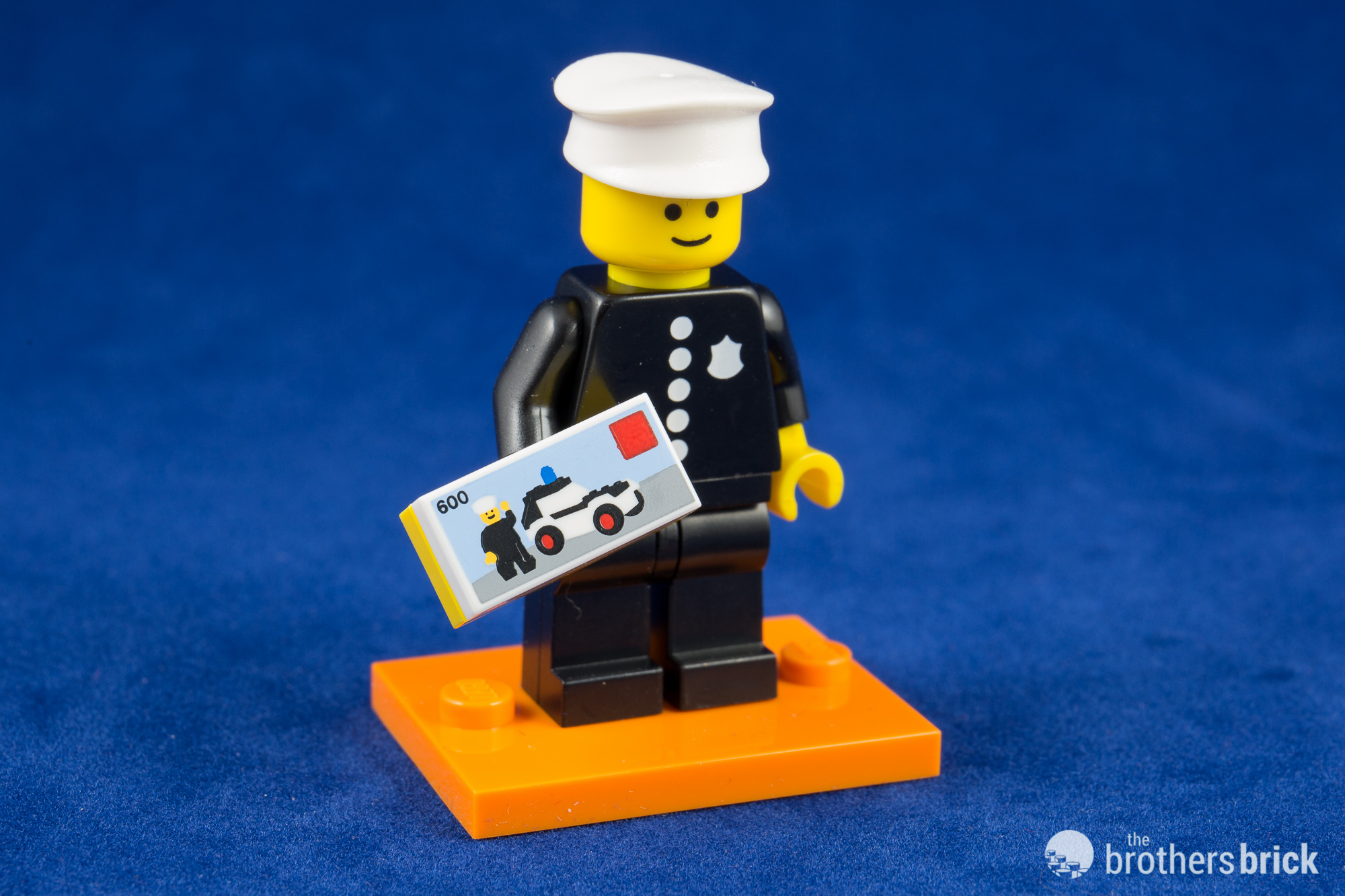 Police Officer LEGO® Minifigures Series 18