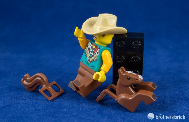 NEW LEGO MINIFIGURES SERIES 18 COWBOY GUY 71021 SERIES 13 SHERIFF 71008 SEALED