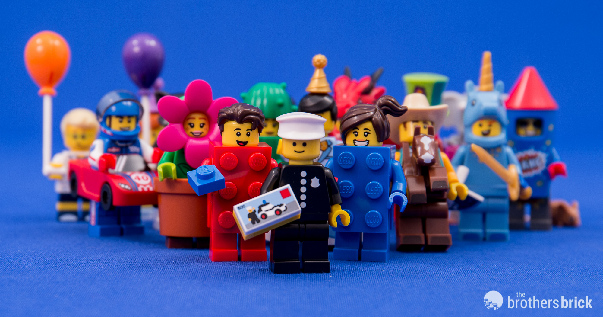 genuine lego minifigures the blue brick girl from series 18