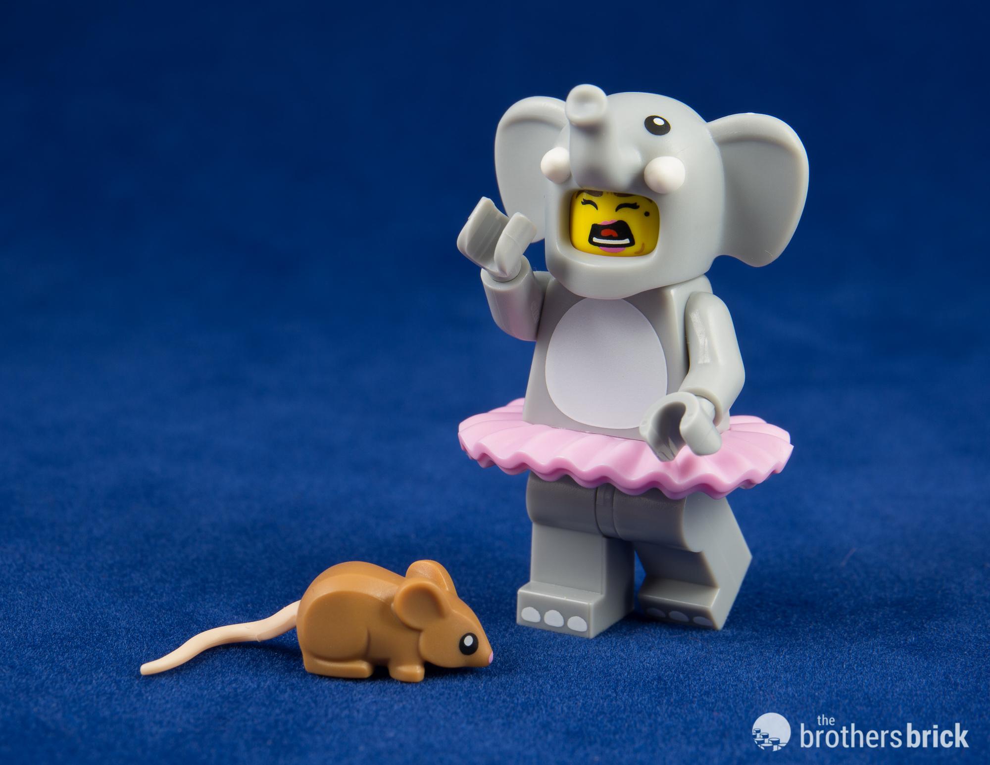 LEGO Minifigures Series 18 Elephant Girl Minifigure Loose