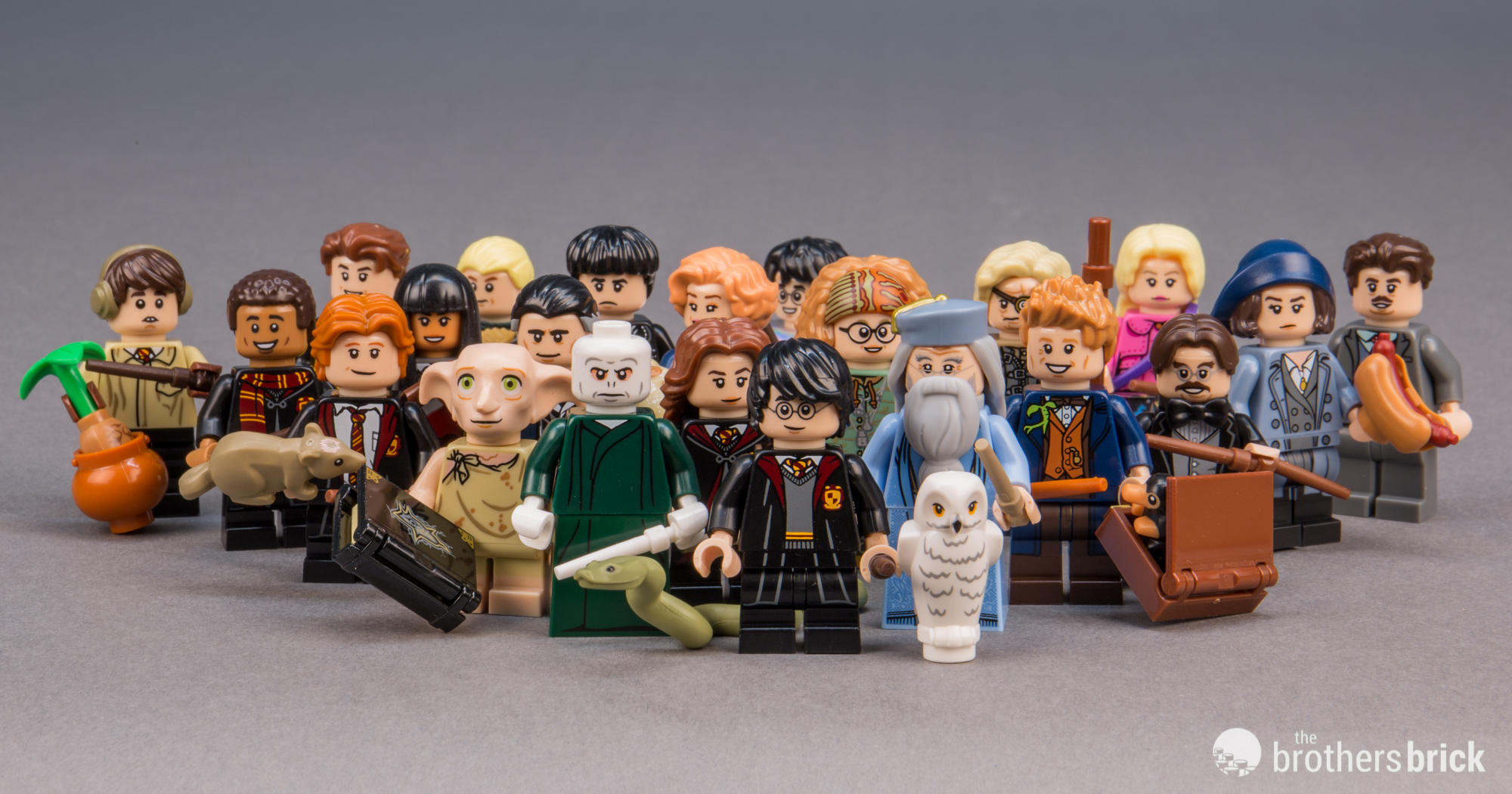 Lego 71022 Harry Potter And Fantastic Beasts Collectible Minifigures Review The Brothers Brick The Brothers Brick