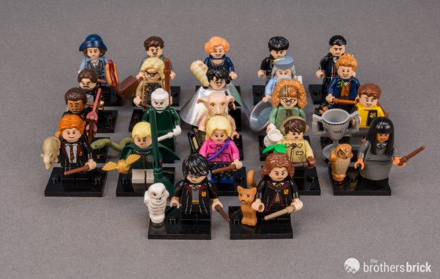 LEGO COLLECTIBLE MINIFIGURES 71022 HARRY POTTER FANTASTIC BEASTS SERIES LOT 10