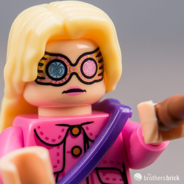 Minifig Head Pink Lips LEGO Spectrespecs // No Spectrespecs - Luna Lovegood