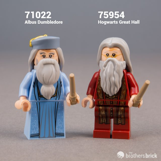 Harry Potter Collectible Minifigures 71022 LEGO Professor Dumbledore CMF
