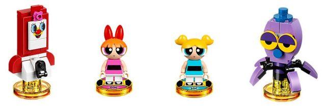 LEGO Powerpuff Girls Blossom Bubbles Buttercup Minifigure 71346 71343 PPG