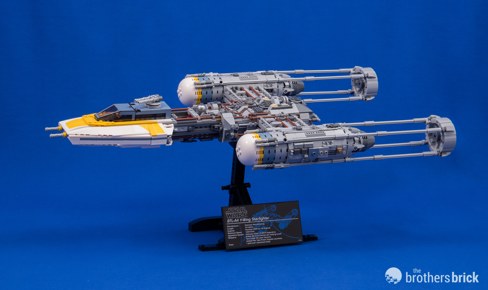 LEGO Star Wars Ultimate Collector Series 75181 Y-wing