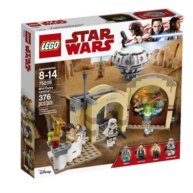 LEGO Star Wars 75205 Mos Eisley Cantina box
