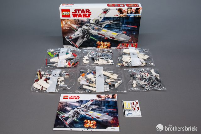 Lego Star Wars 75218 X Wing Starfighter The Return Of The Classic