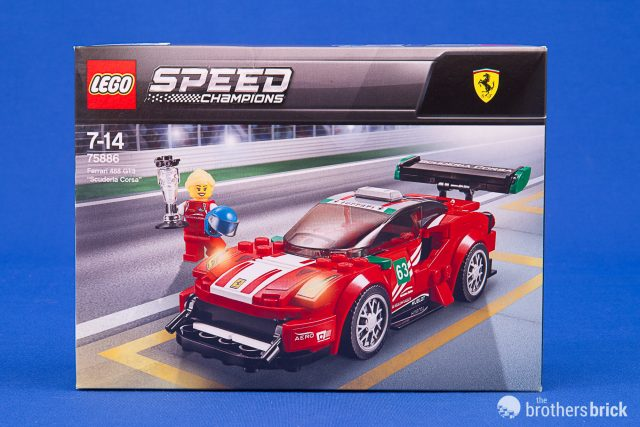Get a taste of Italy with the new LEGO Speed Champions 75886 Ferrari