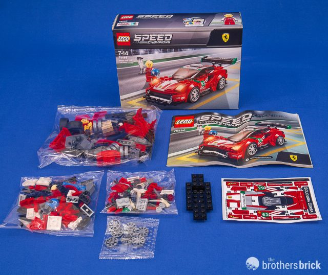 Get a taste of Italy with the new LEGO Speed Champions 75886