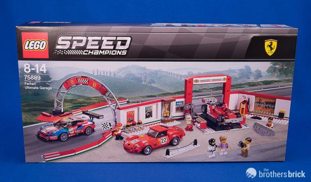 LEGO Speed Champions 75889 Ferrari Ultimate Garage [Review
