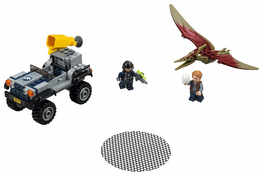 LEGO Jurassic World 75926 Pteranodon Chase - full set
