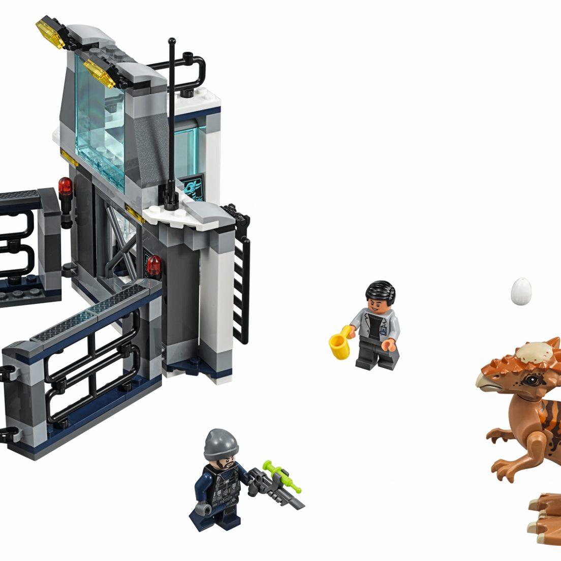 LEGO Jurassic World 75927 Stygimoloch Breakout - full set