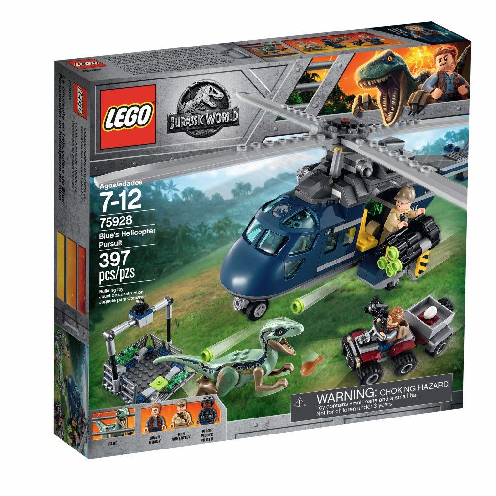 LEGO Jurassic World 75928 Blue's Helicopter Pursuit - box