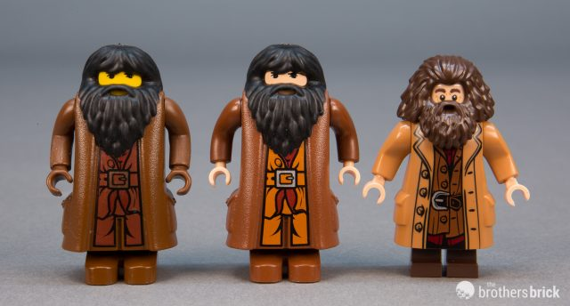 LEGO LOT OF 12 BEARD PIECES WIZARD HAGRID FACIAL HAIR PIECES