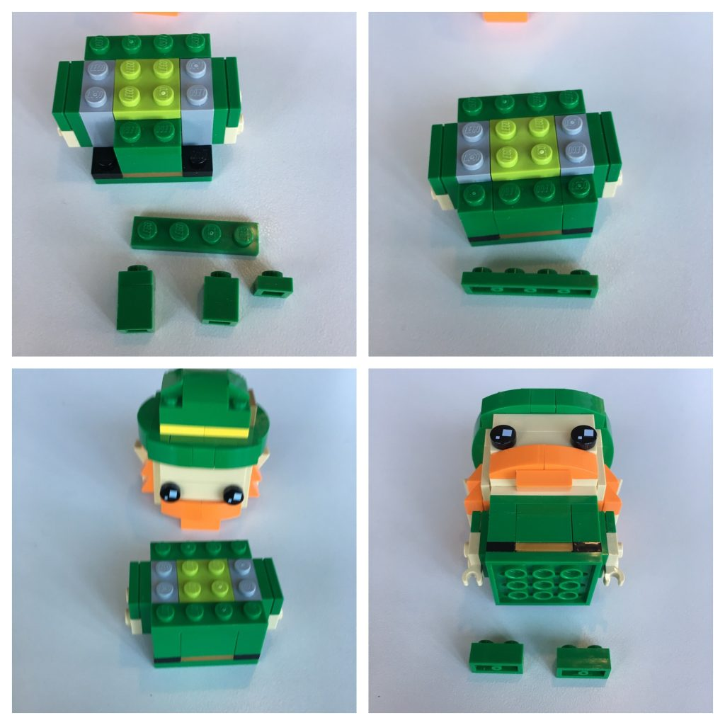 LEGO BrickHeadz Leprechaun instructions - Step 7