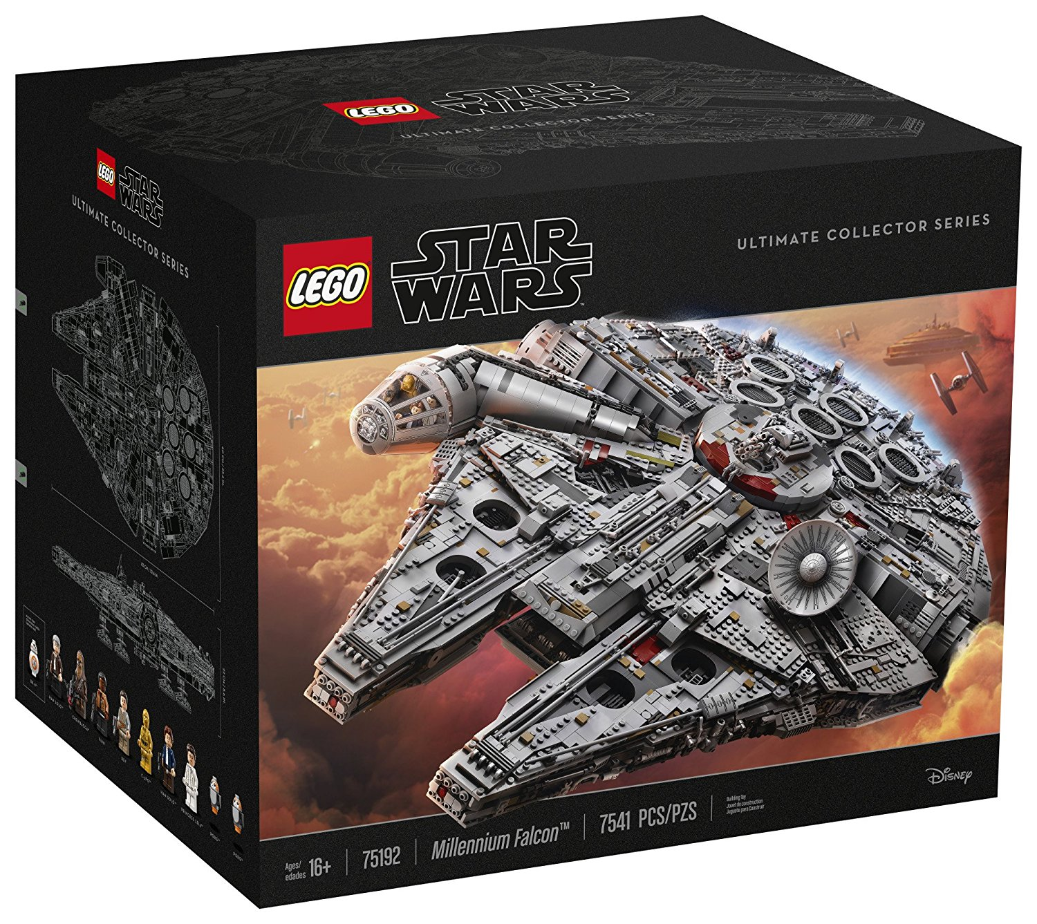 LEGO Star Wars 75192 UCS Millenium Falcon on Amazon