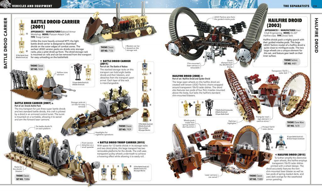 Ultimate LEGO Star Wars: Separatist vehicles