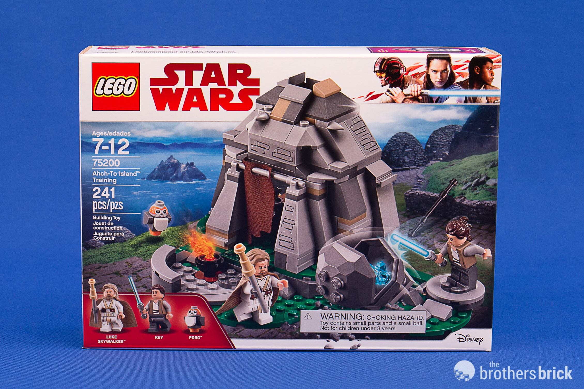Lego Star Wars 75200 Ahch To Island Training From The Last Jedi Review The Brothers Brick The Brothers Brick
