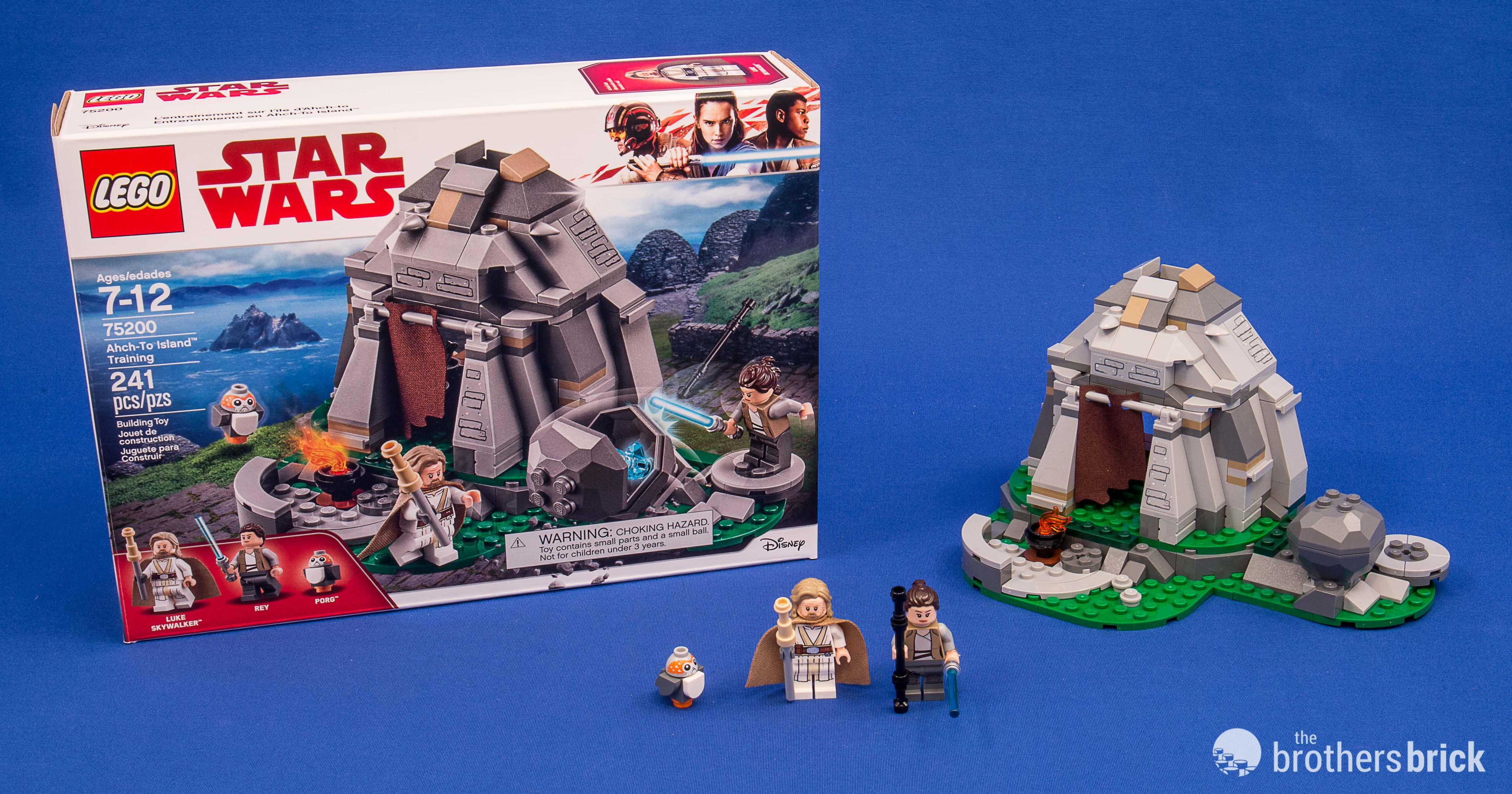 LEGO Star Wars 75200 Ahch-To Island Training 241 pcs Ages 7-12  NEW!