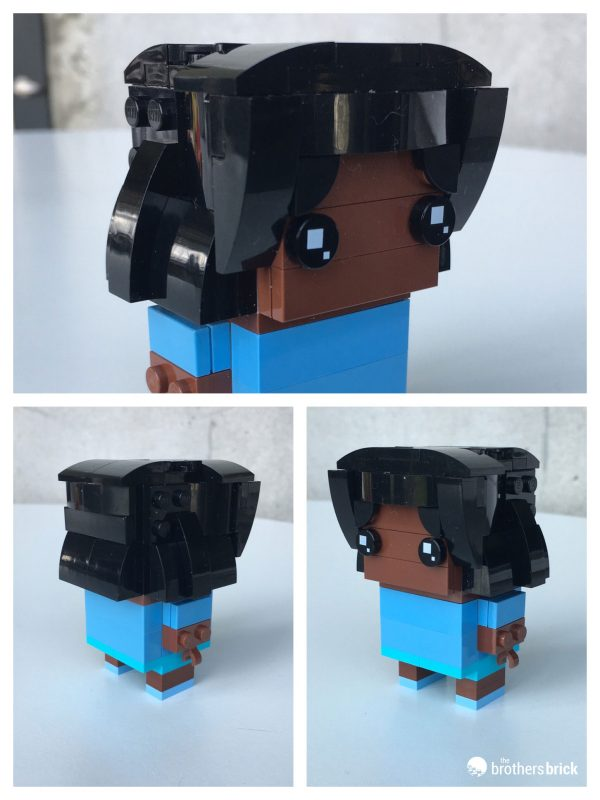 Exploring personalization with LEGO BrickHeadz 41597 Go