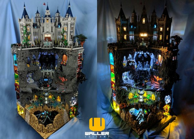 LEGO Wayne Manor Batcave