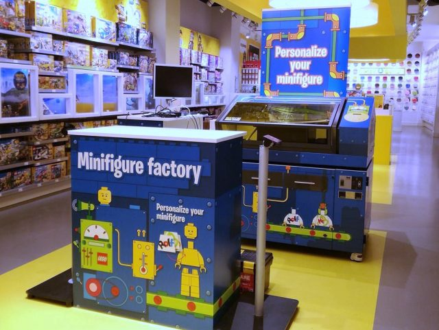 Copenhagen LEGO Store debuts a Minifigure Factory to customize and