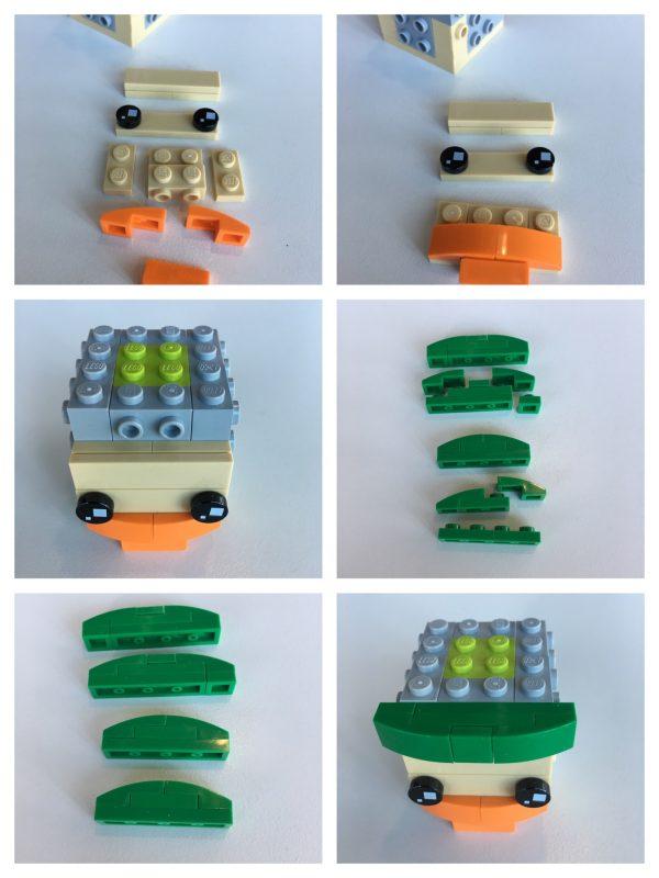 LEGO BrickHeadz Leprechaun instructions - Step 2