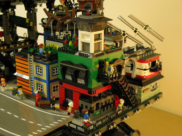 Crawler Town brings the city to you!   The Brothers Brick