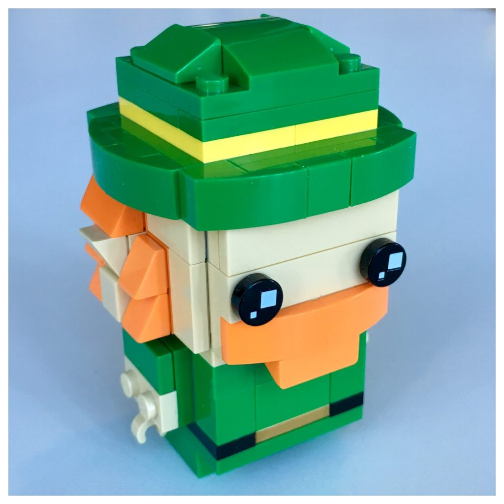 LEGO BrickHeadz Leprechaun instructions - Step 1