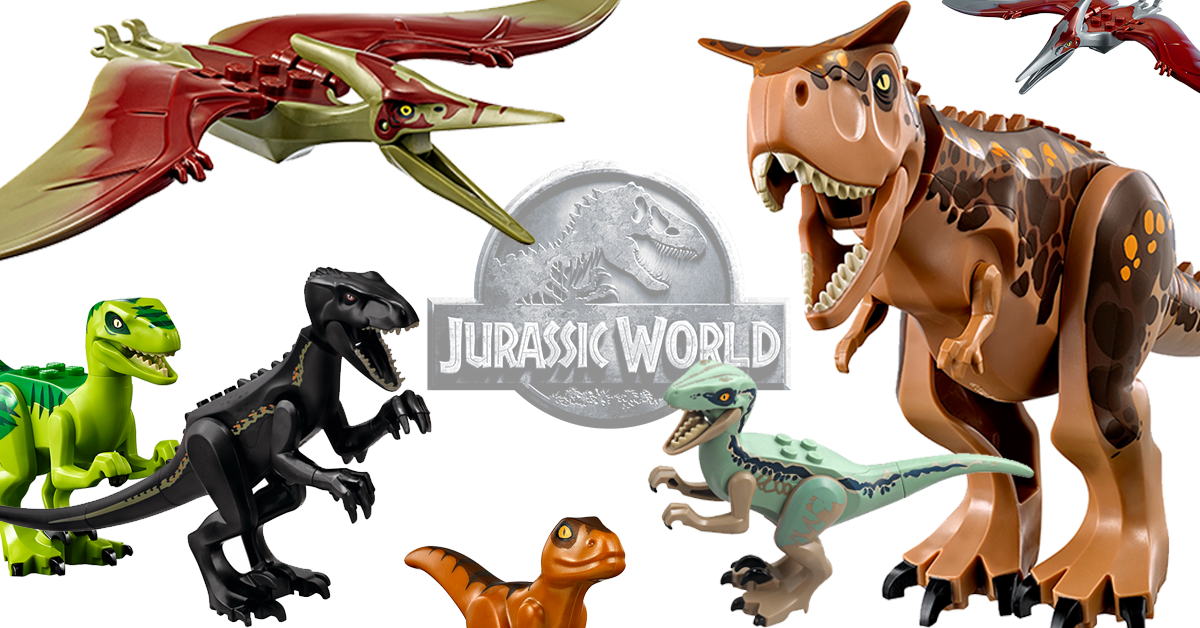 LEGO Jurassic World dinosaur overview