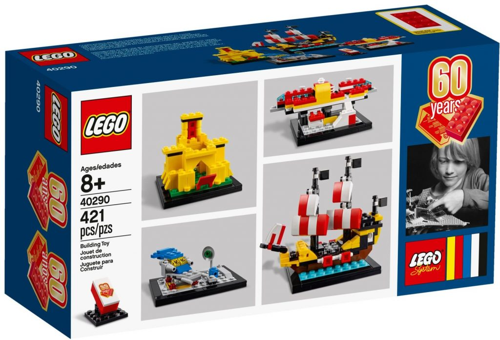 LEGO 40290 Classic 60 Years of the LEGO Brick - Box