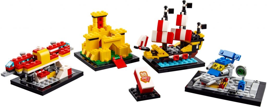 LEGO 40290 Classic 60 Years of the LEGO Brick - Mini-Builds