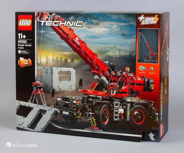 The Biggest Lego Technic Set Ever 42082 Rough Terrain Crane Review