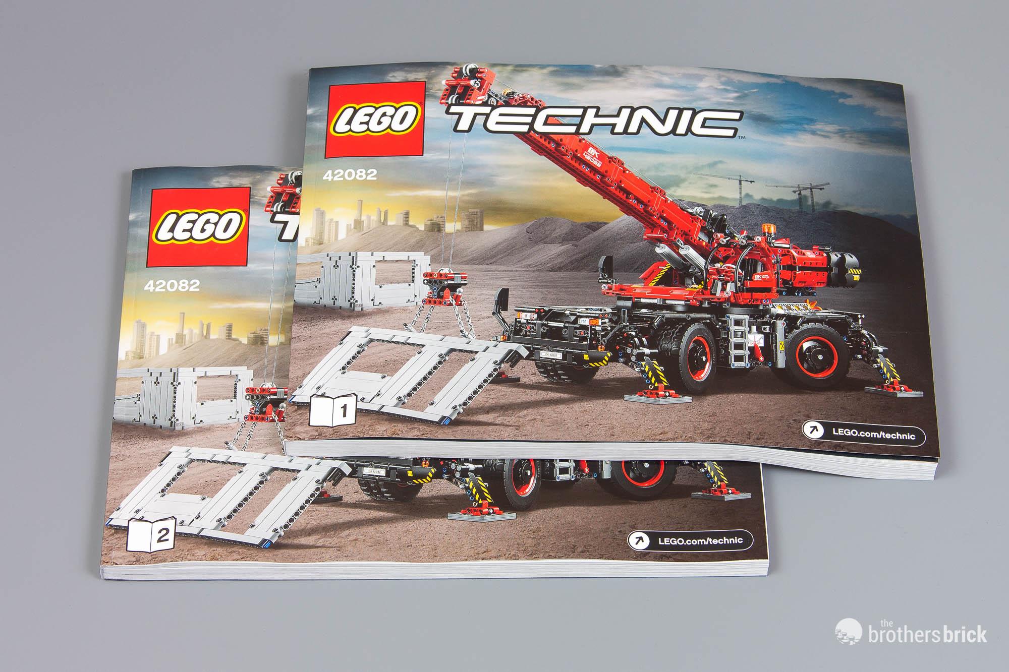 The biggest LEGO Technic set ever: 42082 Rough Terrain Crane [Review