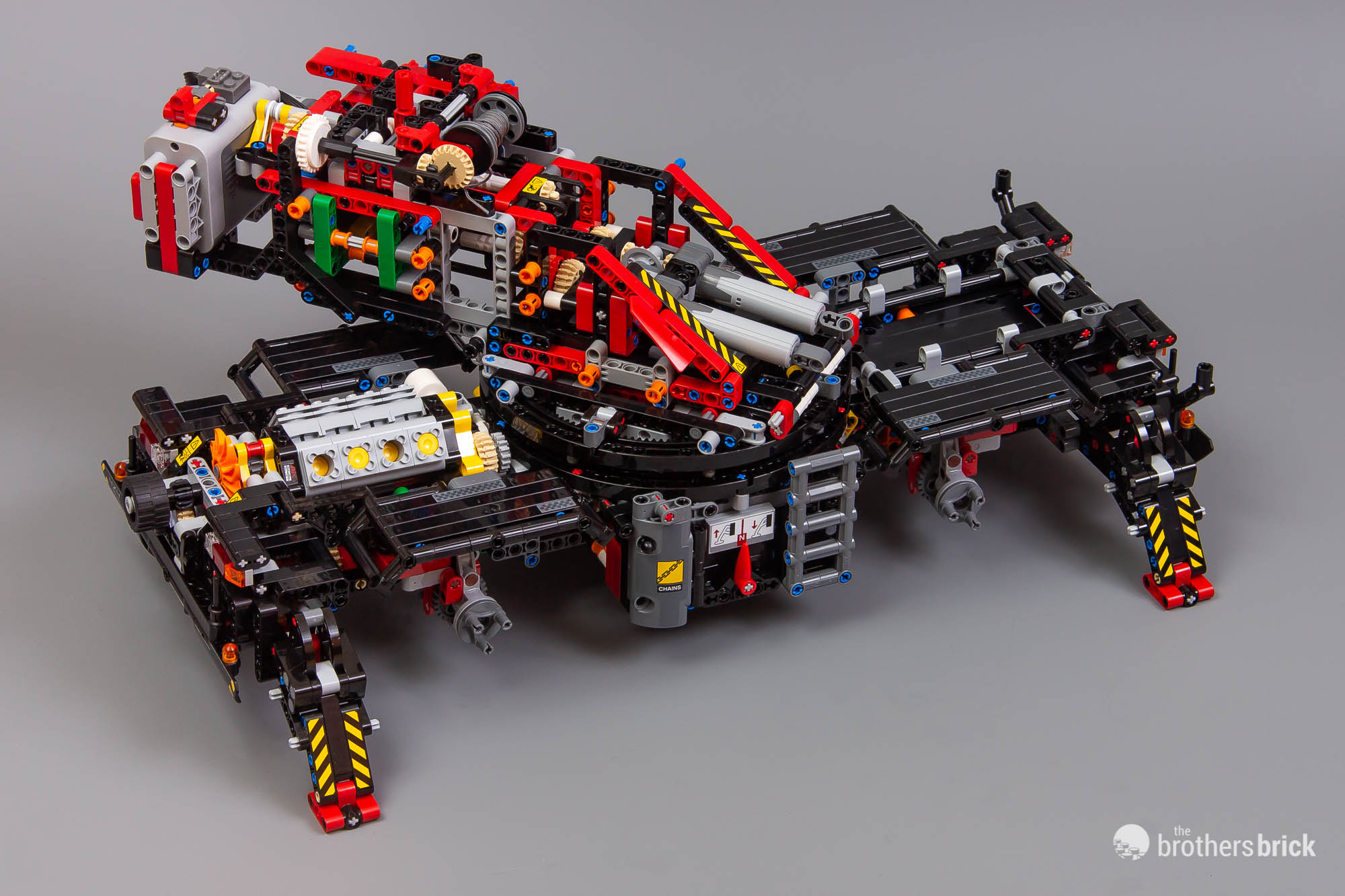 Lego 42082 Rough Terrain Crane Review 51 The Brothers Brick The