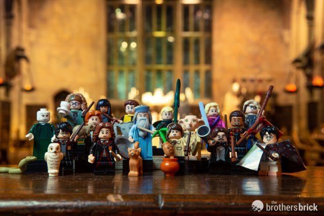 Dean Thomas Harry Potter Fantastic Beast Owl Custom Lego Mini Figure Wizard Toy