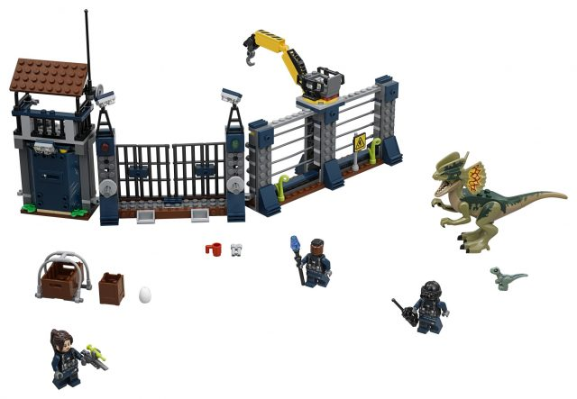 LEGO 75931 Jurassic World - Dilophosaurus Outpost Attack - Box Front