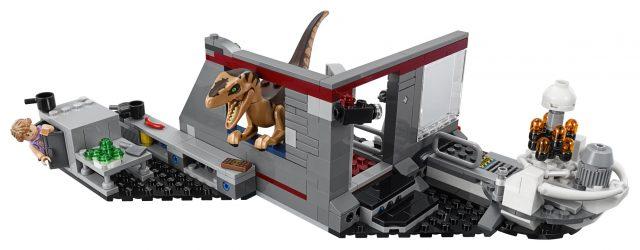 LEGO 75932 Jurassic Park Velociraptor Chase - Set Back
