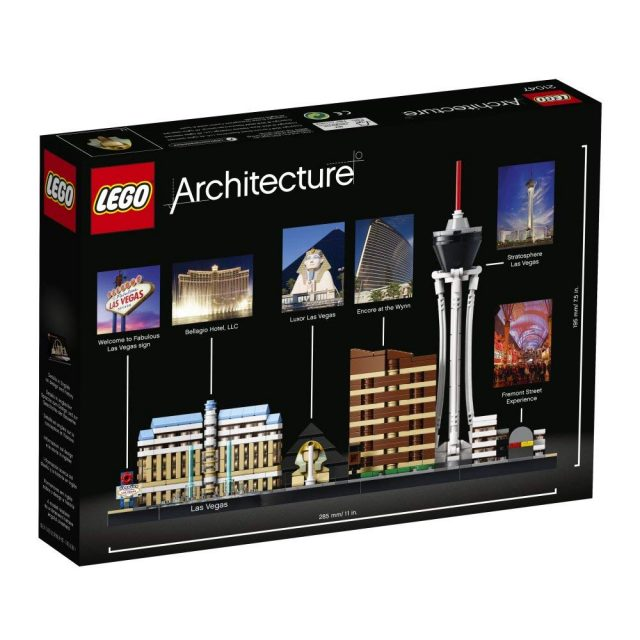 Redesigned LEGO Architecture 21047 Las Vegas revealed [News