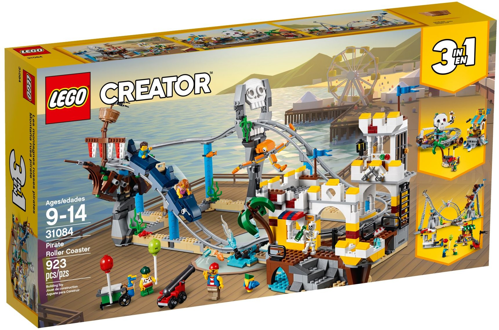 Lego Creator 31084 Pirate Roller Coaster Box The Brothers Brick