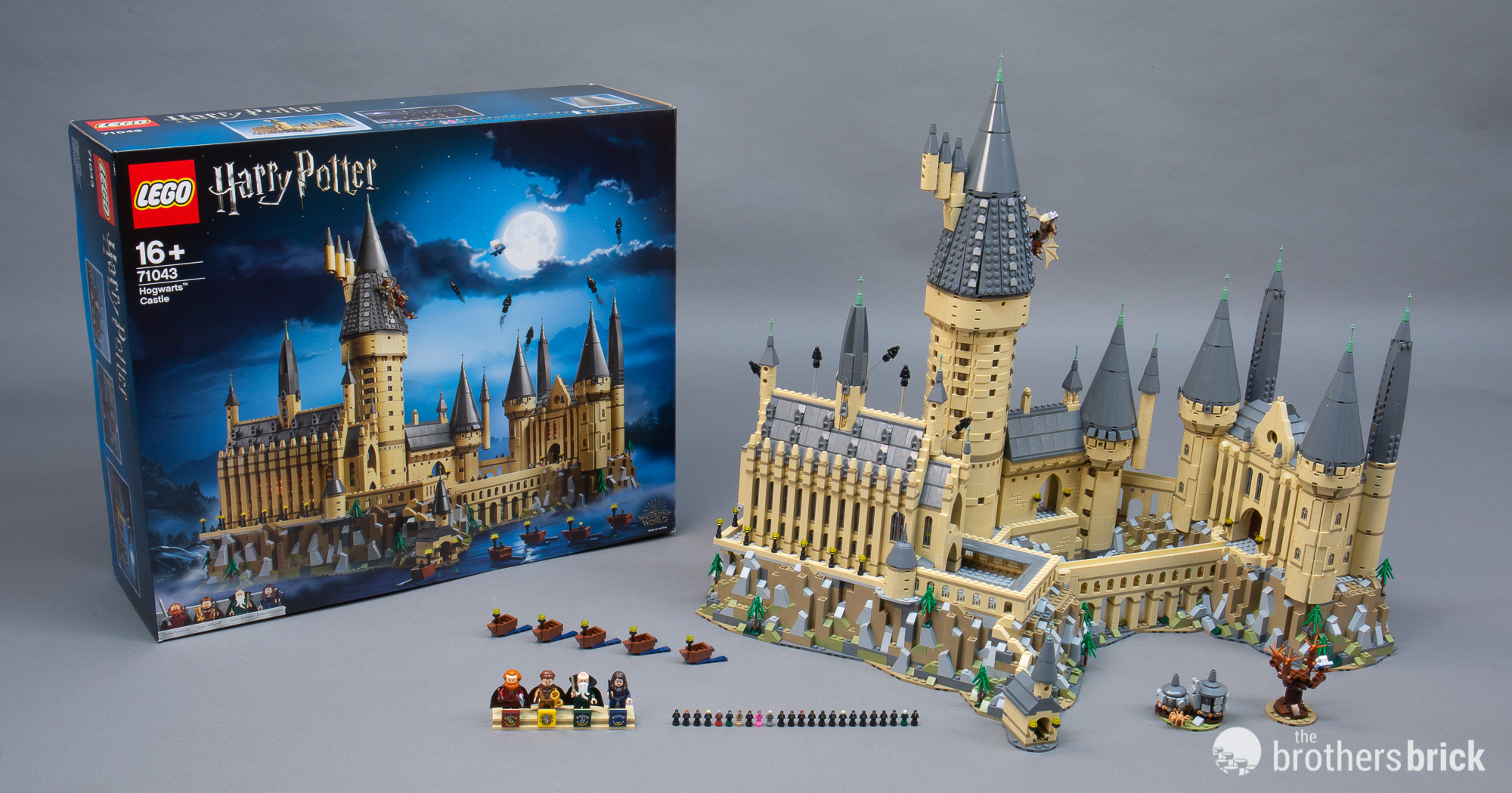 lego harry potter 71043 hogwarts castle 1 the brothers brick the brothers brick. Black Bedroom Furniture Sets. Home Design Ideas
