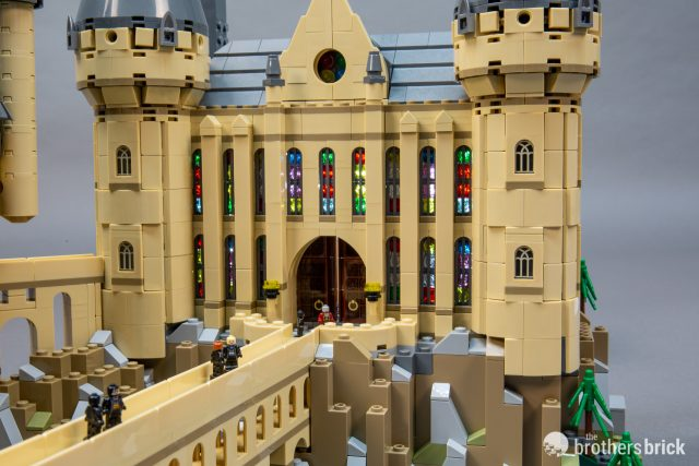 Lego City Harry Potter Door with Hinge Castle NEW