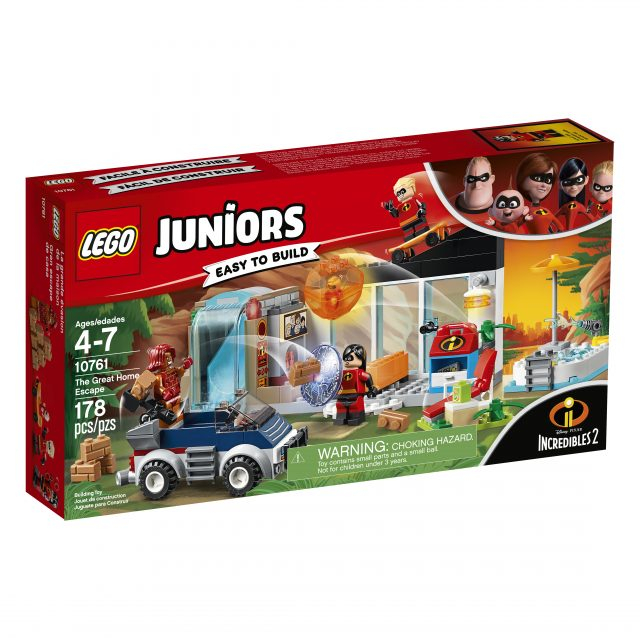 LEGO Juniors - Incredibles 2 - 10761 The Great Home Escape - Box Front