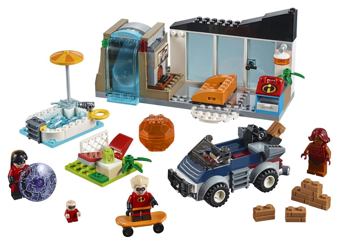 LEGO Juniors - Incredibles 2 - 10761 The Great Home Escape - Set Accessories