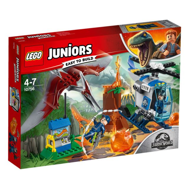 LEGO Jurassic World-10756-Juniors Pteranadon Escape-1